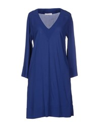 Jucca Dresses Short Dresses Women Blue