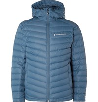 Peak Performance Frost Pertex Hooded Down Ski Jacket Blue