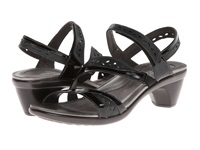 Naot Footwear Beauty Black Patent Leather Shiny Black Leather Black Patent Leather Women's Shoes