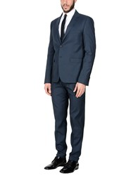 Eredi Del Duca Suits Dark Blue