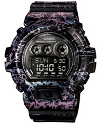 G Shock Men's Digital Black Polarized Resin Strap Watch 58X54mm Gdx6900pm 1 Purple