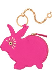 Marc By Marc Jacobs Rabbit Textured Leather Keychain