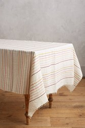 Anthropologie Redwood Tablecloth Cream
