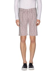 Primo Emporio Trousers Bermuda Shorts Men Light Grey