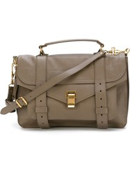 Proenza Schouler Medium 'Ps1' Satchel Grey