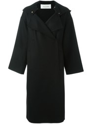 Valentino Oversized Coat Black