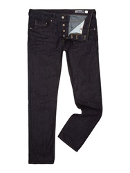 Duck And Cover Boxsir Jeans Straight Fit Dark Wash Blue