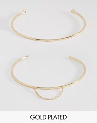 Johnny Loves Rosie Sofia Star Arm Cuff Multipack Gold
