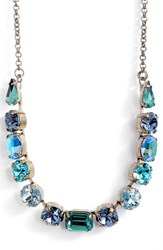 Sorrelli Tansy Crystal Necklace Blue