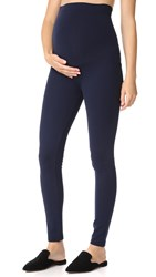 Ingrid And Isabel Ponte Maternity Leggings True Navy