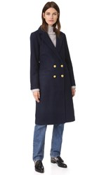 Ganni Hawthorne Coat Total Eclipse