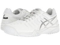 Asics Gel Resolution 7 White Silver Men's Tennis Shoes
