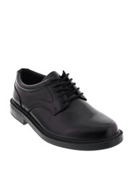 Deer Stags Times Leather Oxfords Black