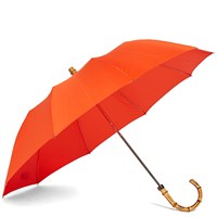 London Undercover Whangee Telescopic Umbrella Orange