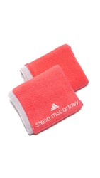 Adidas By Stella Mccartney Wristbands Flash Red Pearl White