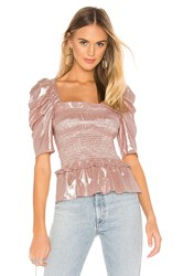 Amanda Uprichard Marisol Top Blush