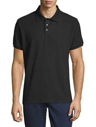 Hyden Yoo Classic Short Sleeve Polo Anthracite