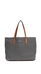Splendid Key Largo Tote Black Stripe