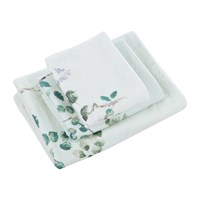Sanderson Magnolia And Blossom Towel Duck Egg Blue