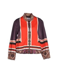 The Textile Rebels Jackets Red