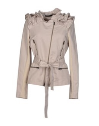 Pianurastudio Jackets Beige