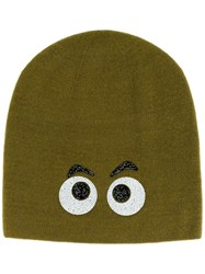 Warm Me 'Dagobert' Beanie Hat Green
