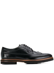 Tod's Classic Derby Shoes Black