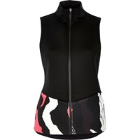 River Island Womens Ri Active Black Print Sports Gilet