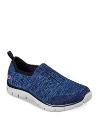 Skechers Empire Slip On Sneakers Navy Blue