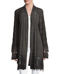 Xcvi Susana Cardigan With Lace Sleeves Londonoil