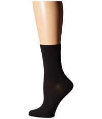 Falke Cotton Touch Ankle Socks Black Women's Low Cut Socks Shoes