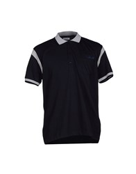 Bikkembergs Topwear Polo Shirts Men Dark Blue