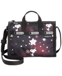 Le Sport Sac Lesportsac Peanuts Collection Mini Weekender Crossbody Stargazer