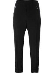 Steffen Schraut Cropped Trousers Black