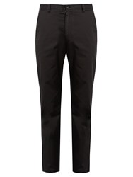 Acne Studios Alfred Slim Fit Chino Trousers Black