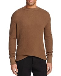 Alexander Wang T By Cotton Waffle Knit Sweater Army Green