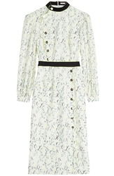 Olympia Le Tan Bootham Printed Dress