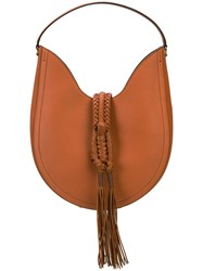 Altuzarra Large 'Ghianda' Hobo Bag Brown