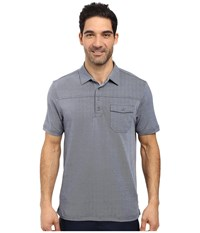 Travis Mathew B Stock Polo Angel Falls Dress Blues Men's Clothing Gray