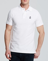 Psycho Bunny Classic Polo Regular Fit White