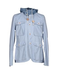 Prps Goods And Co. Jackets Sky Blue