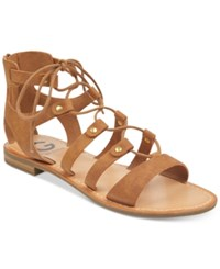 G By Guess Hotsy Flat Sandals Women's Shoes Tan