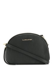 Lancaster Logo Plaque Crossbody Bag Black