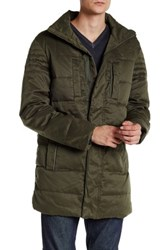 Zadig And Voltaire Keep Long Down Jacket Green