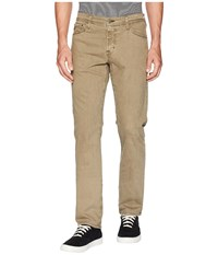 Ag Adriano Goldschmied Graduate Tailored Leg Sud Pants In Sulfur Canyon Moss Sulfur Canyon Moss Clothing Beige