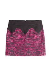 Just Cavalli Zebra Kiss Print Mini Skirt Gr. It 38