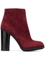 Loriblu Ankle Boots Red