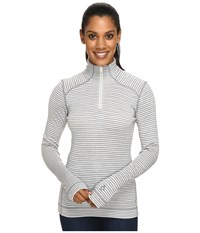 Smartwool Nts Mid 250 Pattern Zip Top Light Gray Heather Natural Women's Long Sleeve Pullover