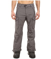 686 Authentic Infinity Shell Cargo Pants Steel Men's Casual Pants Silver