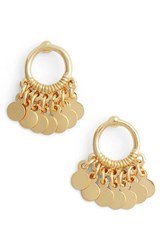 Argentovivo Women's Argento Vivo Vermeil Frontal Drop Earrings